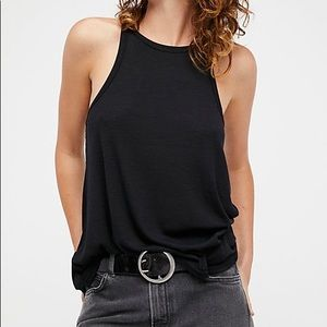 LOWEST PRICE Free People Black Racer Back Swing